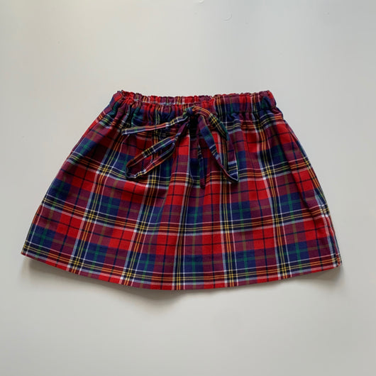 La Coqueta Tartan Skirt: 4 Years