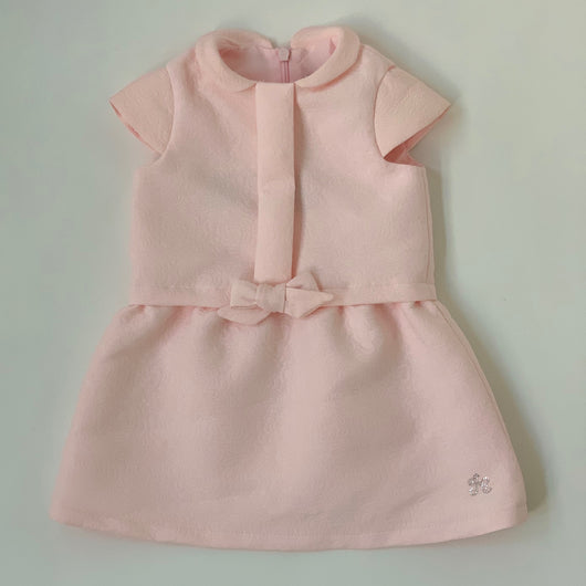 Tartine et Chocolat Pale Pink Embossed Dress: 12 Months (Brand New)