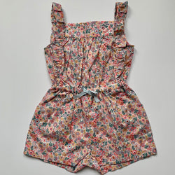 Marie-Chantal Flora Print Romper: 3 Years