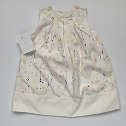 Marie-Chantal Splatter Print Dress: 18 Months (Brand New)
