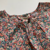 Bonpoint Blue Toned Liberty Print Blouse: 3 years