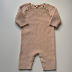 Bonpoint Pale Pink Cashmere All-In-One: 6 Months