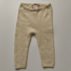 Bonpoint Cream Cashmere Leggings: 6 Months