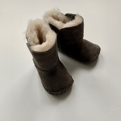 Ugg Taupe Shearling Booties: 0 - 3 Months
