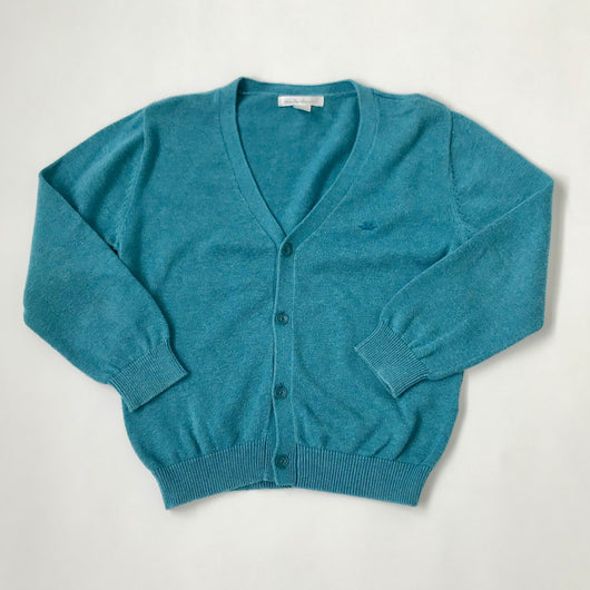 Marie-Chantal Teal Cotton Cardigan: 5 Years
