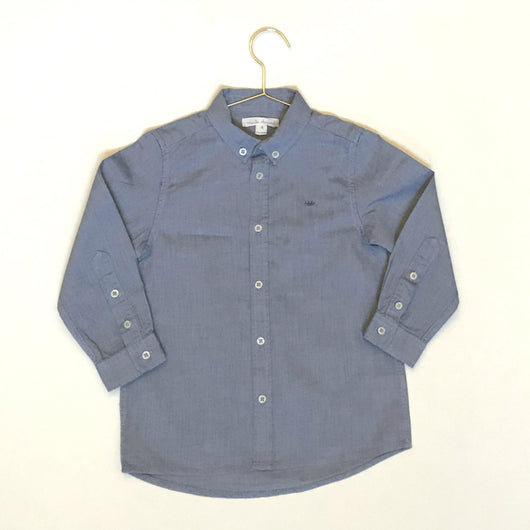 Marie-Chantal Blue Chambray Shirt: 4 Years