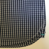 Marie-Chantal Navy & White Check Shirt