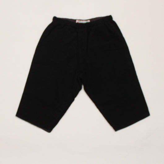 Bonpoint Fine Cord Black Trousers