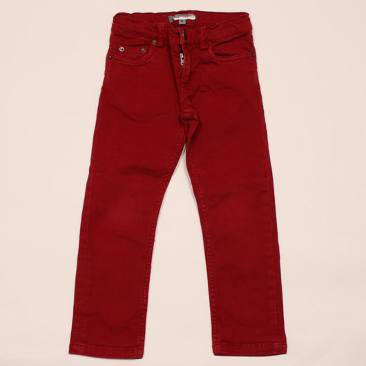 Bonpoint Red Denim Jeans
