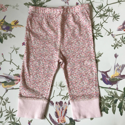 Liberty of London Liberty Print Cotton Leggings: 6 Months