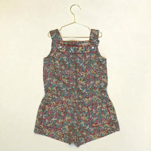 Bonpoint Liberty Print All-In-One Playsuit