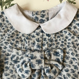 Chloé Floral Print Blouse With Contrast Collar