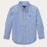 Ralph Lauren Blue And White Stripe Shirt: 4 Years