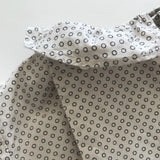 Bonpoint Polka Dot Blouse With Frill Collar