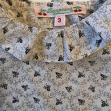 Bonpoint Fern Print Baby Blouse With Collar