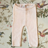 Bonpoint Pale Pink Cashmere Leggings