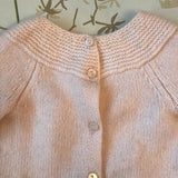 Bonpoint Pale Pink Cashmere Baby Knit