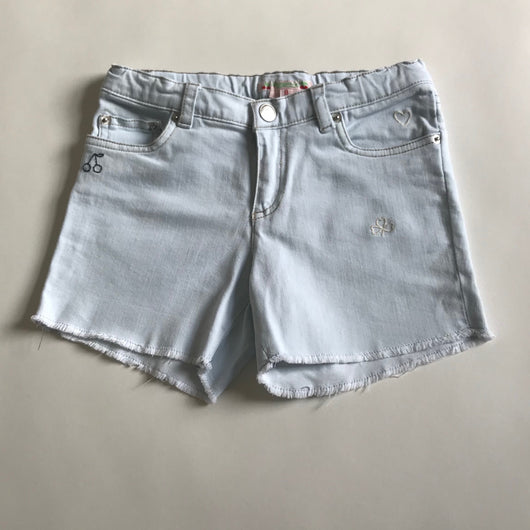 Bonpoint Light Denim Shorts: 8 Years