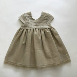 Baby Dior Gold Tulle Party Dress: 24 Months