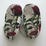 Dolce & Gabbana Rose Print Baby Ballet Shoes