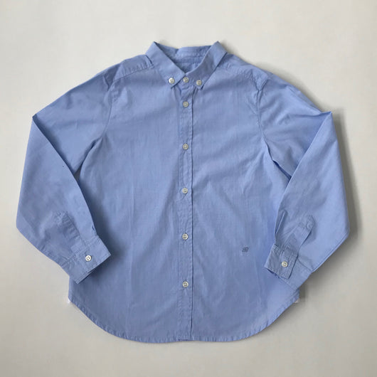 Bonpoint Blue Chambray Cotton Shirt