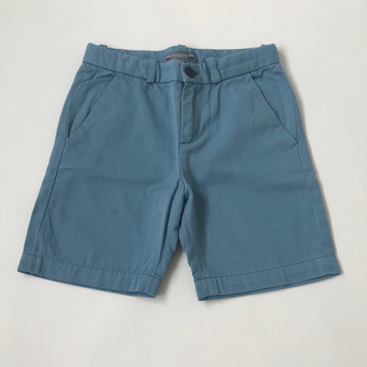 Bonpoint Sky Blue Chino Shorts: 6 Years