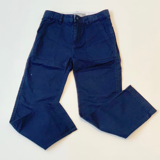 Bonpoint Navy Cotton Chinos: 6 Years