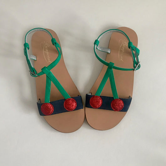 Bonpoint Cherry Sandals