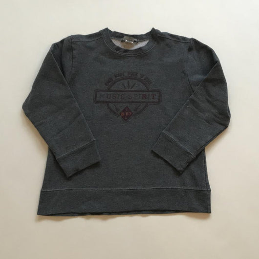 Bonpoint Dark Grey Sweatshirt: 6 Years