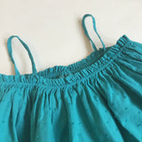 Bonton Green Cotton Summer Dress