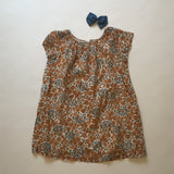 Bonpoint Floral Gauzy Cotton Summer Dress