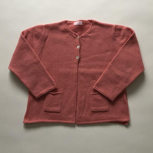 La Coqueta Coral Wool Mix Cardigan