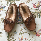 Ugg Tan Shearling Slippers