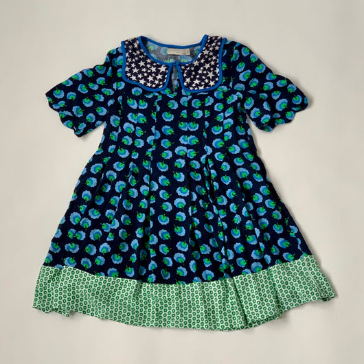Stella McCartney Floral Dress With Collar: 6 Years