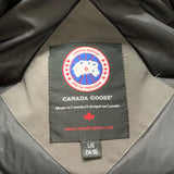 Canada Goose Grey Bomber Jacket With Fur Trim: 14-16 Years