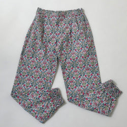 La Coqueta Liberty Print Cotton Trousers: 9 Years