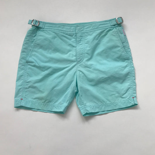 Orlebar Brown Light Turquoise Swimshorts: 12 Years
