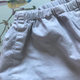Bonpoint Palest Grey Cotton Trousers: 2 Years