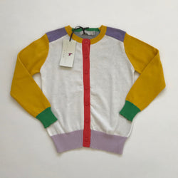Stella McCartney Colourblock Cotton Cardigan: 6 Years (Brand New)