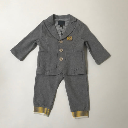 Fendi Grey Sweatshirt Outfit; 6 Months (Brand New)