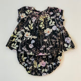 Bonpoint Black Floral Print Cotton Bloomers: 12 Months
