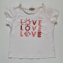 Bonpoint Love T-Shirt: 8 Years