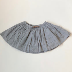 MarMar Copenhagen Blue Cotton Skirt: 4 Years