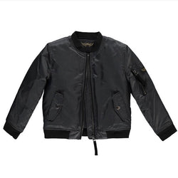 Finger In The Nose Dark Grey Bomber Jacket