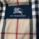 Burberry Cream Raincoat With Burberry Check Lining