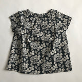 Bonpoint Black And White Cotton Top: 4 Years