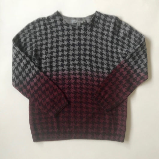 Bonpoint Wool/ Cashmere Mix Ombre Houndstooth Jumper
