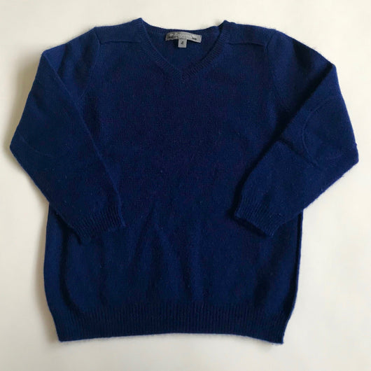 Bonpoint Royal Blue Cashmere Jumper