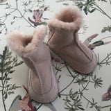 Ugg Baby Pink Shearling Booties