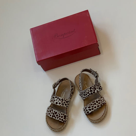 Bonpoint Pony Hair Sandals: Size 29